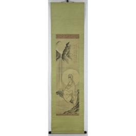 Gutei Jitetsu Painting of a Kanzeon Bodhisattva