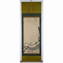 Hakuin Ekaku Painting of Jyuro-jin( god of longevity)